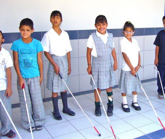 17 niños ciegos de Madrid se someten a un exitoso experimento en Puerta de Hierro Majadahonda