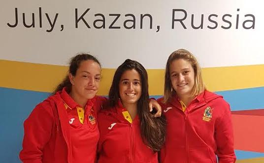 Rugby: Carmen Rodera, Lucía Díaz y María García acaban 6ª de Europa en Kazán (Rusia)