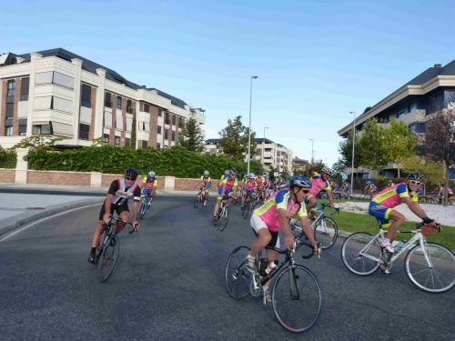 Fiesta de la Bici para todas las edades: el Club Ciclista Majadahonda en las Fiestas 2017