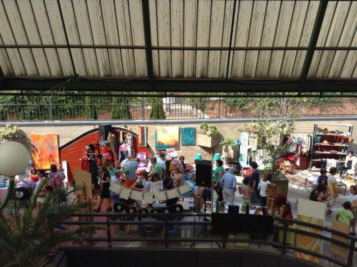 El Mercado del Caracol regresa a Majadahonda con talleres de manualidades y tatuajes temporales