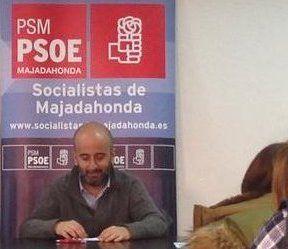 """Javier Vales anuncia su salida de la Secretaría General del PSOE Majadahonda porque no desea """"aferrarse al cargo"""""""