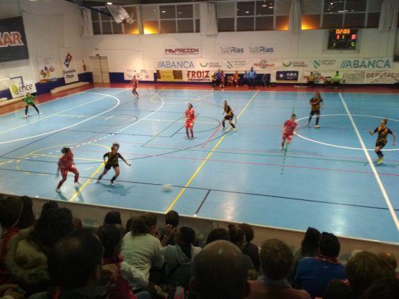 Fútbol sala femenino: Esplugues consigue empatar a Majadahonda en Barcelona a 3 minutos del final (2-2)