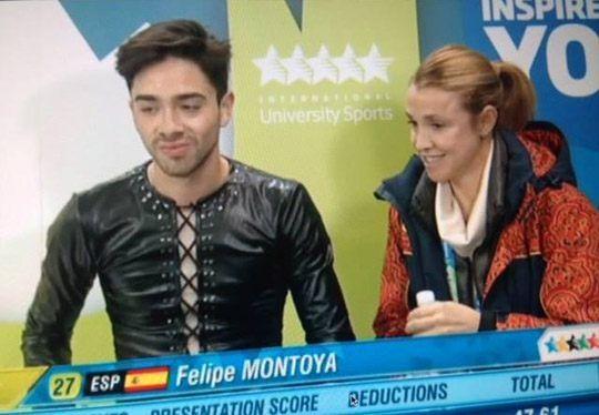 Protagonistas Deporte Majadahonda: Marta Lliteras (rugby), Felipe Montoya (patinaje hielo) y Elena Álvarez (hockey hielo)