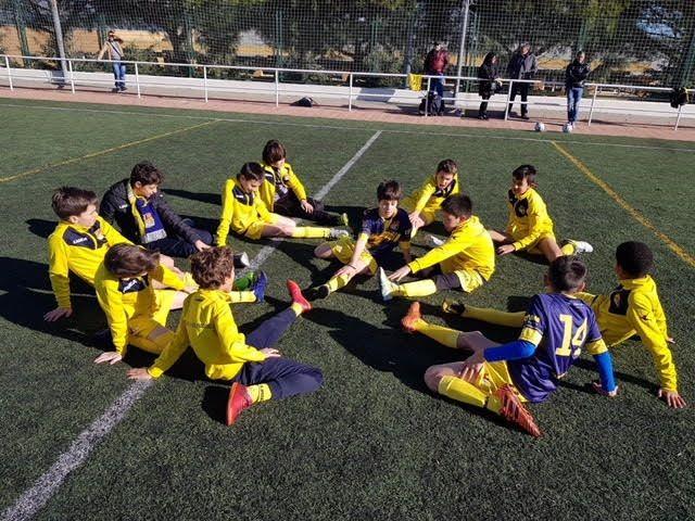 """Fútbol base: Puerta de Madrid (Majadahonda) concluye el """"campeonato de invierno"""" con un liderato y los deberes hechos"""