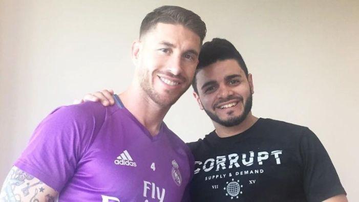 Marcos Llorente llevó a Sergio Ramos e hizo famoso a Larbys Barber como peluquero en Majadahonda