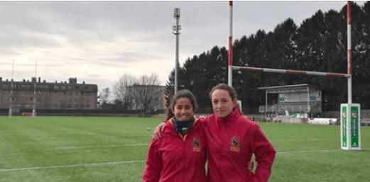 Protagonistas Deporte Majadahonda: Lucía y Uchi (Rugby), Hockey Hielo (SAD), Andrea Feijoo (fútbol sala) y Copa Kobe Motor
