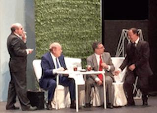 Dos concejales de Ciudadanos (Cs) se mofan de los gays en una obra de teatro aficionado