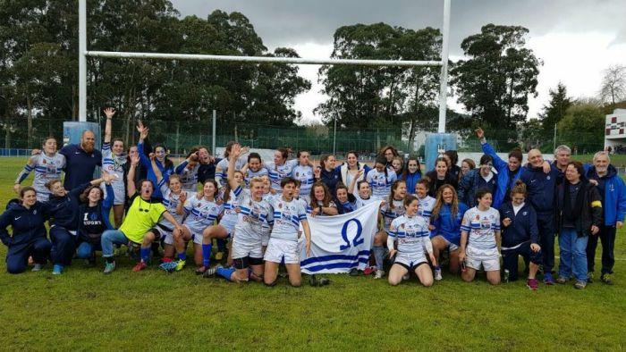 Rugby Femenino: el 2º tiempo del Olímpico Pozuelo en Coruña deja sin título al CR Majadahonda