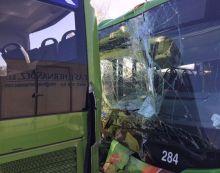 Test de alcohol y drogas da negativo en los 2 conductores de los buses que chocaron en Majadahonda