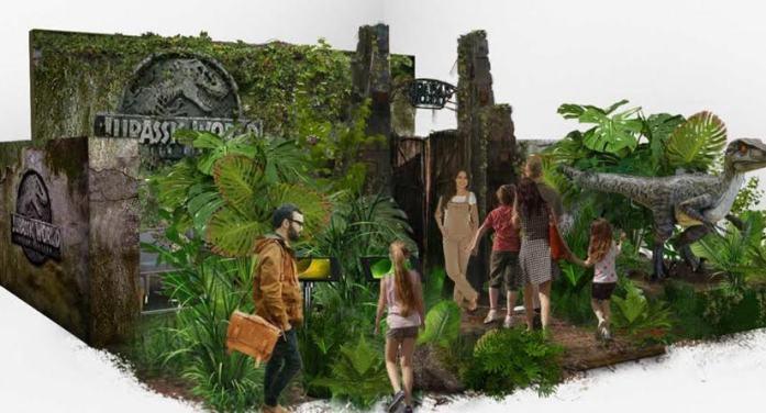 Gafas de realidad virtual en Equinoccio Majadahonda con la Jurassic World Experience