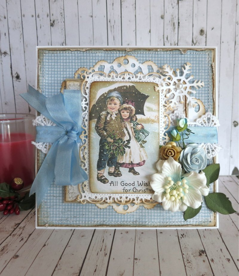 Wishes for Christmas - Cathy - Vintage Frost Basics