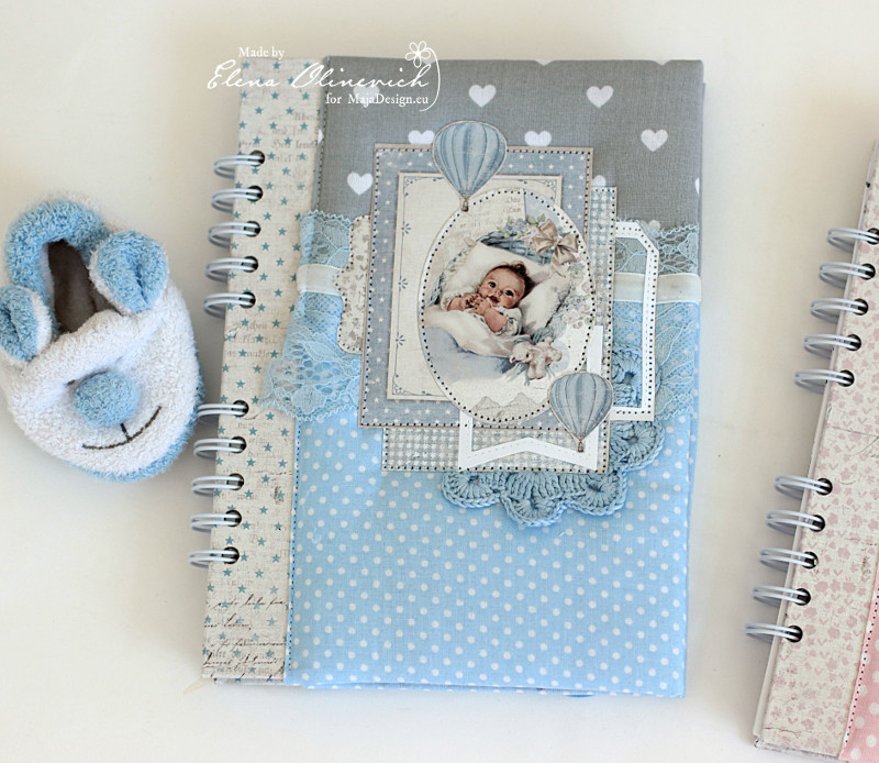 Baby Boy Book, by Elena Olinevich, Maja Design2