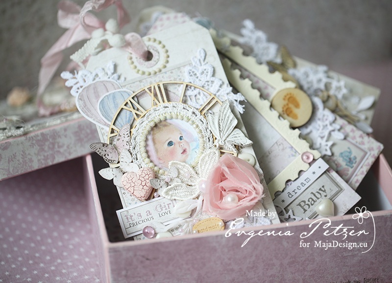 Baby Girl Mini Album Majadesign