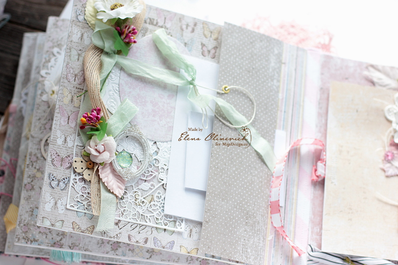 Floral Handmade Album by Elena Olinevich 8