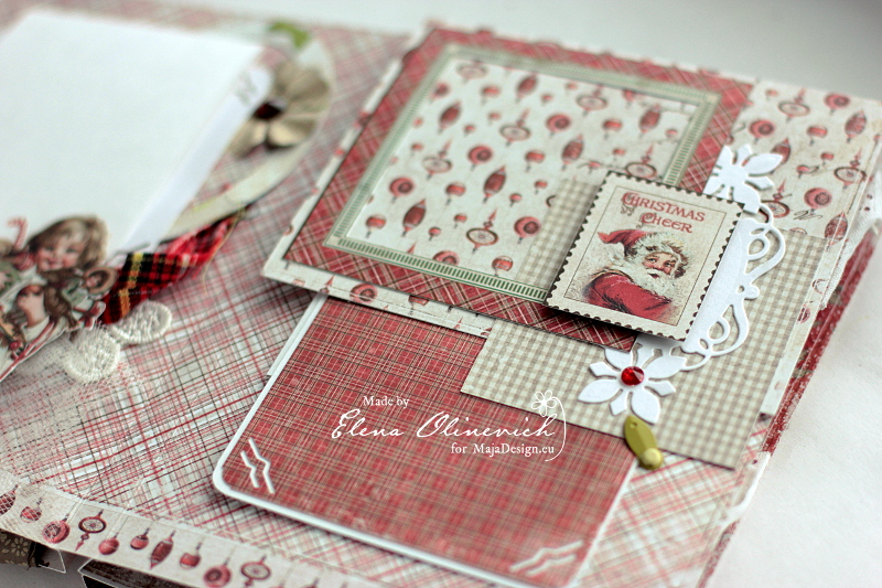 Winter is Magic Mini Album, by Elena Olinevich, Maja Design, photo3