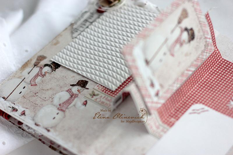 Winter is Magic Mini Album, by Elena Olinevich, Maja Design, photo7