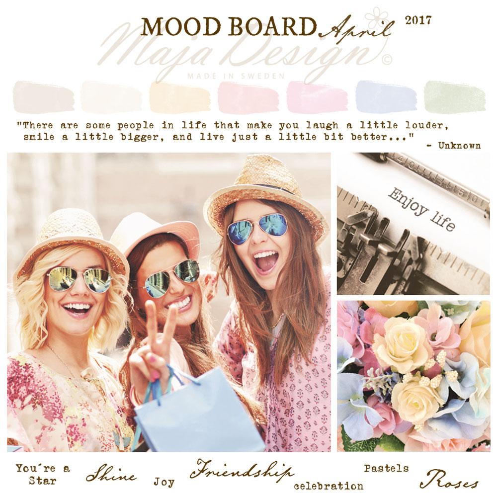 Mood Board April 2017