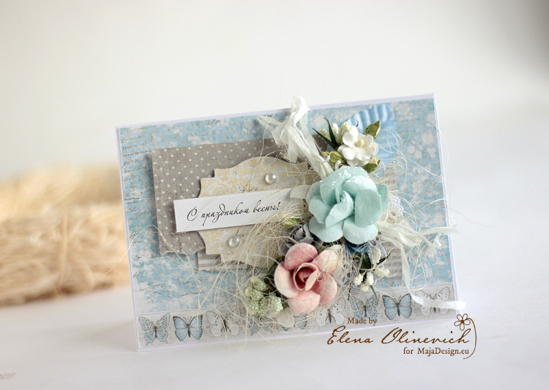 Spring Floral Cards Maja DEsign