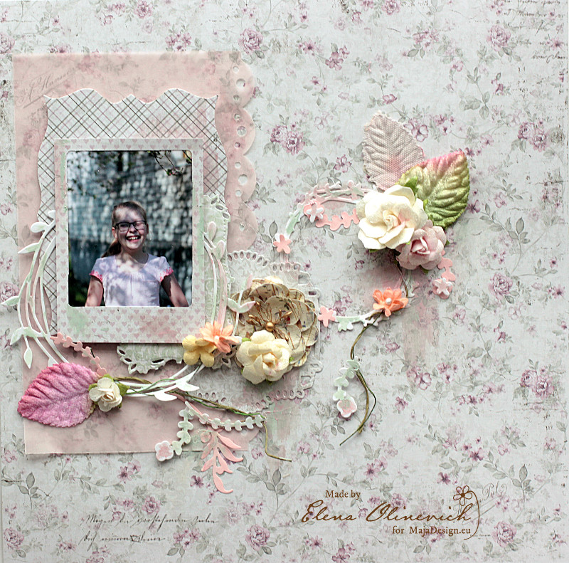 Spring Layout by Elena Olinevich product by Maja Design