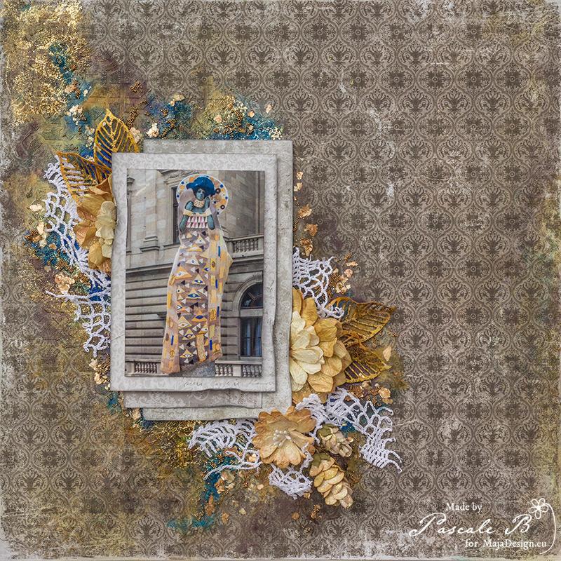 Knitting Klimt by Pascale B.