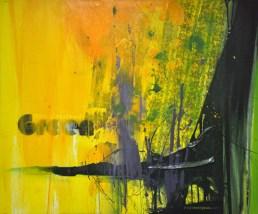 UNDERSTANDING GREEN, 100 x 120 cm