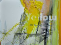 BROAD-MINDED YELLOW, 60 x 80 cm