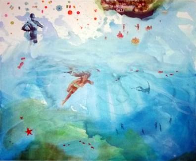 AMNIOTIC FLUID 02, 50 x 60 cm, 2017