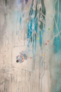LOVE LETTERS, 200 x 75 cm, 2018 (DETAIL)