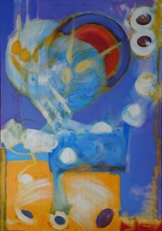 KNEDLE SA SLJIVAMA, 100 x 70 cm
