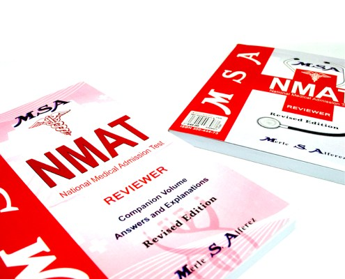 NMAT New Book Cover