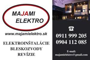 elektrikár - elektroinštalácie