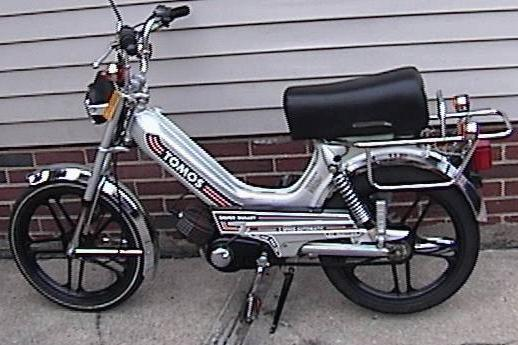 Tomos Silver Bullet 50cc moped 1985