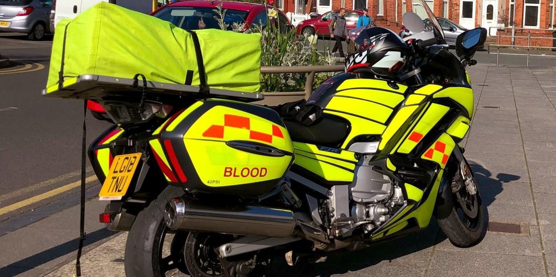 Yamaha FJR Blood Bike