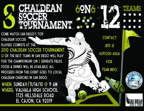 Chaldean Soccer Tournament