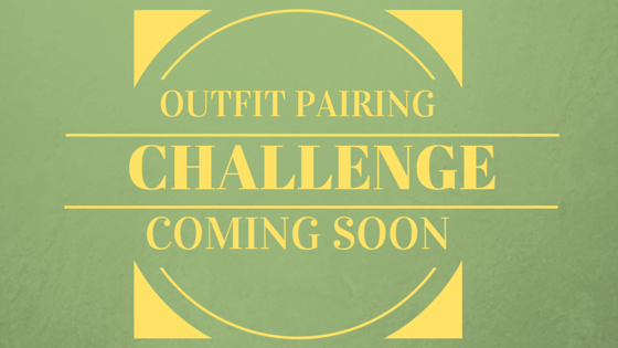 The outfit pairing challenge