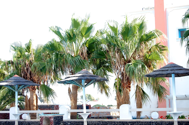 pool view at Sandy Villas Greece Visiting Santorini on the blog, work in progress www.majeang.com