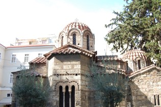 Church in athens