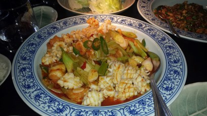 seafood dish, Hutong, the shard