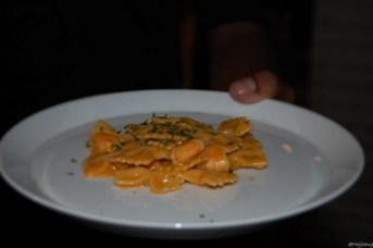 prawn pasta, la tavolata, oro 1889