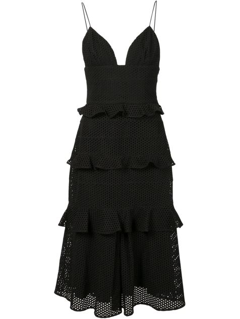 Cushnie Et Ochs Rara Midi Dress on www.farfetch.com