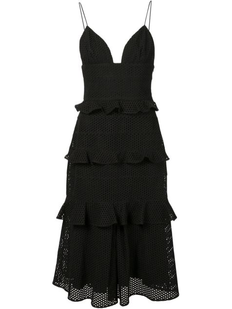 Cushnie Et Ochs Rara Midi Dress on www.farfetch.com