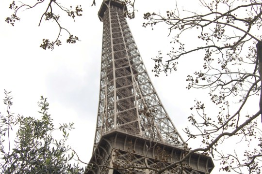 I think it has to do with the fact 5 places that are easy to travel around solo. eiffel tower, Paris