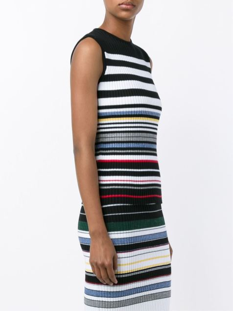 Preen stripped co-ord- www.farfetch.com