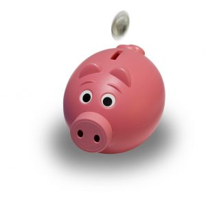 money hacks, saving money, piggy bank