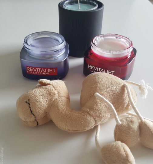 Revtalift Renew night cream and mask