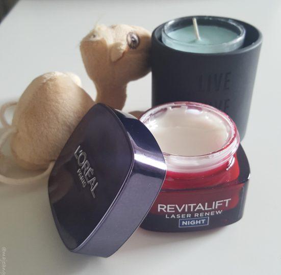 Revitalift Renew night mask