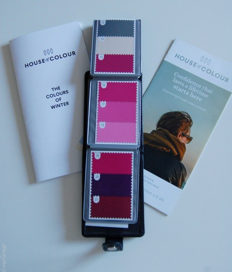 Sultry winter pinks for colour analysis