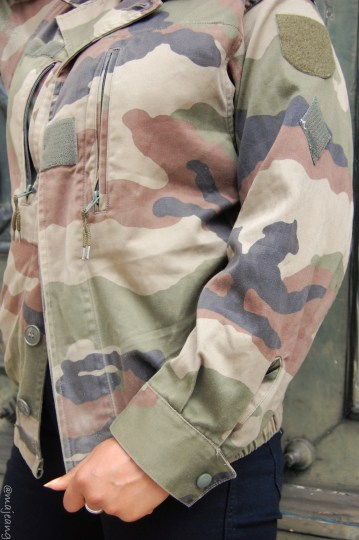 The Camo Jacket on www.majeang.com