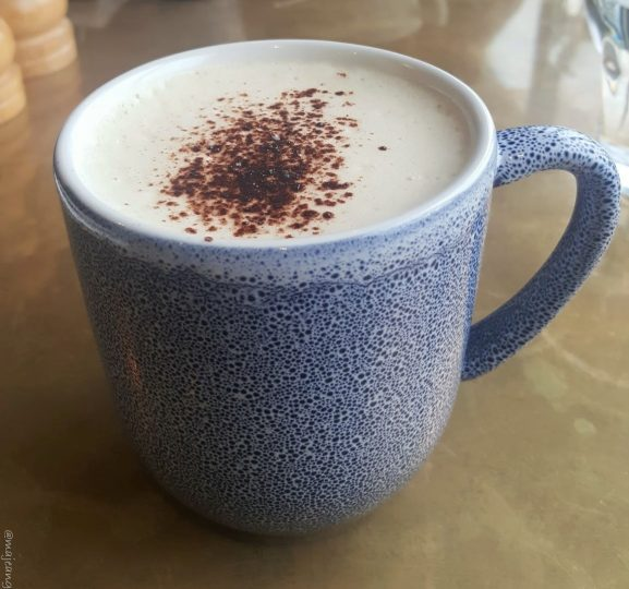 sunday at tower bridge- chai latte