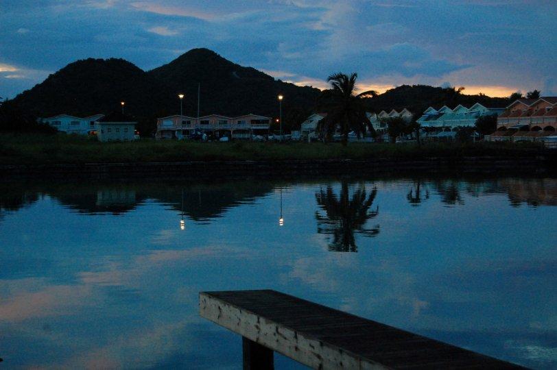 Sunset view Antigua